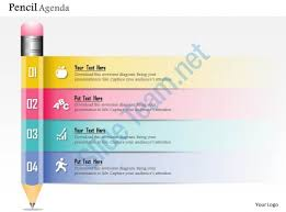 0914 business plan new pencil diagram agenda powerpoint