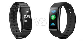 oled bracelet review images Huawei honor a2 smart wrist band vs huami amazfit midong smart jpg
