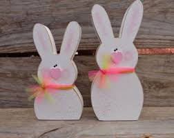 easter bunny decorations wood easter bunny easter bunny easter decorations