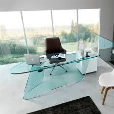 bureaux en verre bureau en verre
