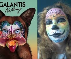 galantis no money face paint 5 steps