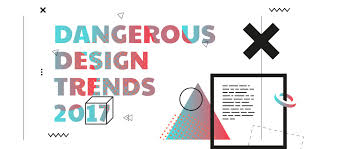 design trends in 2017 dangerous design trends 2017 muzli design inspiration