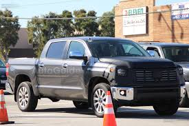 2018 toyota tundra spied again showing new front end toyota fj