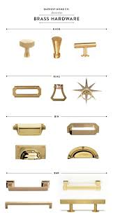 Kitchen Cabinet Fixtures Best 25 Brass Cabinet Hardware Ideas On Pinterest Gold Kitchen