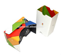 diy 3d google cardboard with nfc custom logo print buy google
