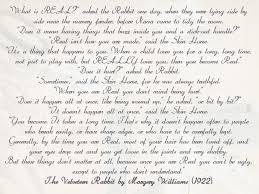 wedding quotes readings velveteen rabbit wedding reading pocketful of dreams wedding