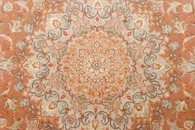 Brown Round Rugs by Beautiful Round Vintage Tabriz Persian Rug 51134 By Nazmiyal