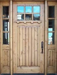 Shaker Style Exterior Doors Knotty Alder Shaker Style Entry Door 3 0 X 8 0 With Sidelights