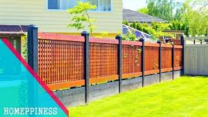 Front Garden Fence Ideas Front Fence Ideas Vrdreams Co