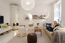 White Beautiful  M Apartment In Sweden Interior Design - Beautiful apartment design