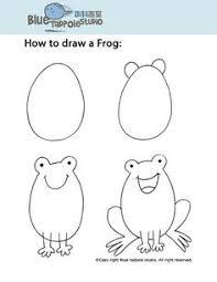 imagenes de un sapo para dibujar faciles aprende a dibujar a una rana dibujo cat pinterest ranas