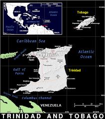 Map Of Trinidad Tt Trinidad And Tobago Public Domain Maps By Pat The Free