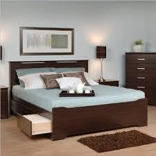 6 Drawer Bed Frame Espresso Coal Harbor Mate S Platform Storage Bed With 6