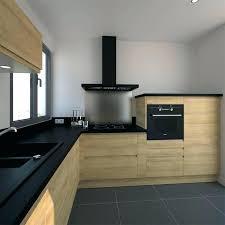 cuisine blanc cassé cuisine blanche plan de travail noir plus cuisine plan travail plan