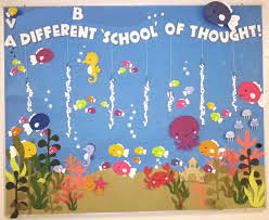A Different School of Thought Ocean Theme Bulletin Board