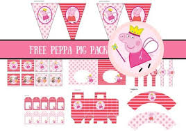 printable birthday decorations free free princess peppa pig printable peppa pig invitations pig party