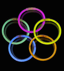 glow bracelets 10 inch glow stick bracelets 5 color assorted mix