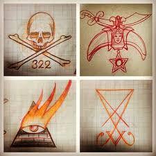 symbolism sketchbook i really wanna start some secret society