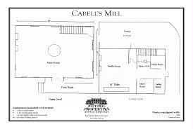 Spelling Manor Floor Plan by Historic Properties Rental Services Cabell U0027s Mill Fairfax
