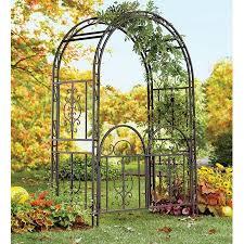 wedding arches at walmart iron montebello garden arbor w gate bronze finish walmart