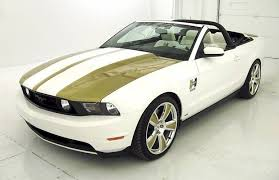 hurst mustang performance white 2010 ford mustang gt hurst pace car convertible