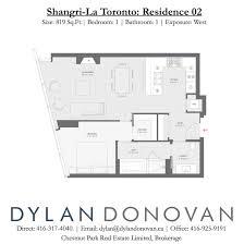 02 floor plan shangri la toronto floor plans dylan donovan