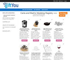 items for a wedding registry giftyou wedding registry