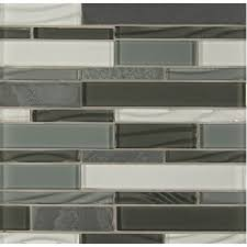 shop bedrosians intrigue mosaics pewter grey mosaic glass metal