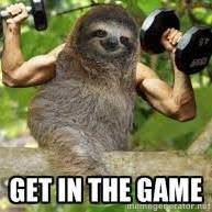 Fitness Sloth Meme - all aboard the gain train why beastmode is stupid propane fitness