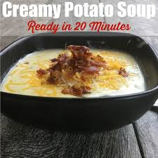 creamy potato soup made in 20 minutes sidetracked sarah