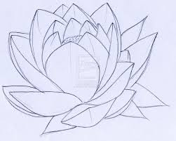 lotus flower outline free download clip art free clip art on