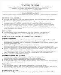 Pharmaceutical Sales Resume Example by 27 Sales Resume Templates In Pdf Free U0026 Premium Templates