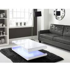 Coffee Tables With Led Lights White High Gloss Coffee Table With Led Lighting Buy It