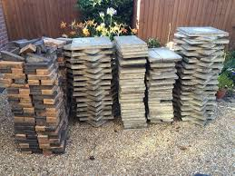 Patio Edging Stones by Job Lot Garden Patio Paving Slabs And Decorative Edging Bricks