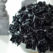 black roses black roses and wreath