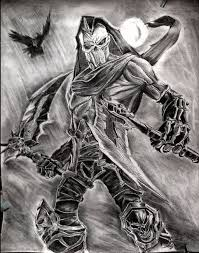 grim reaper of death darksiders by debonation on deviantart