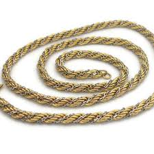 silver gold chain necklace images Best monet gold chain necklace products on wanelo jpg