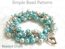 beading wire bracelet images Learn how to make a wire wrapped bracelet with chain pearls crystals jpg