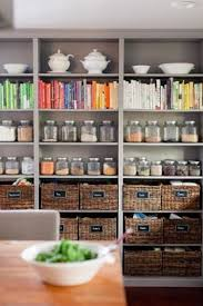 Kitchen Pantry Shelving by Diy Country Store Kitchen Shelves Glass Canisters Shelving And