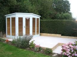 Garden Summer Houses Corner - bakers timber buildings classic corner summerhouse in