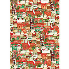 vintage christmas wrapping paper rolls gift wrap paper source