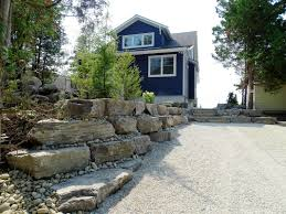 retaining walls backyard boyslandscape construction