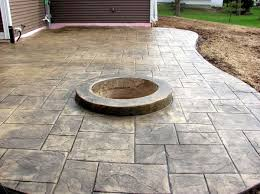 Backyard Stamped Concrete Ideas Stamped Concrete Ideas Stamped Concrete Patio Designs Calico