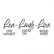 live laugh family wall quote sayings removable wall lettering