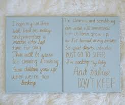 diy sweet nursery signs and my mother u0027s promise casual claire