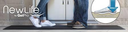 Kitchen Comfort Mats Newlife Bio Foam Comfort Floor Mats By Gelpro Provide Superior Comfort