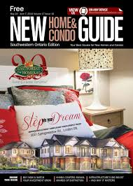Spallacci Homes Floor Plans by Southwestern Ontario New Home And Condo Guide May 24 2014 By