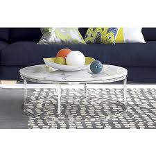 Cb2 Marble Coffee Table Smart Marble Top Coffee Table Ringside Table Open Cylinder