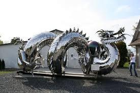metal lion sculpture 15 sculptures made from metal