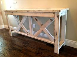 Sofa Back Table by White Distressed Wood Sofa Table U2014 Bitdigest Design Decoration